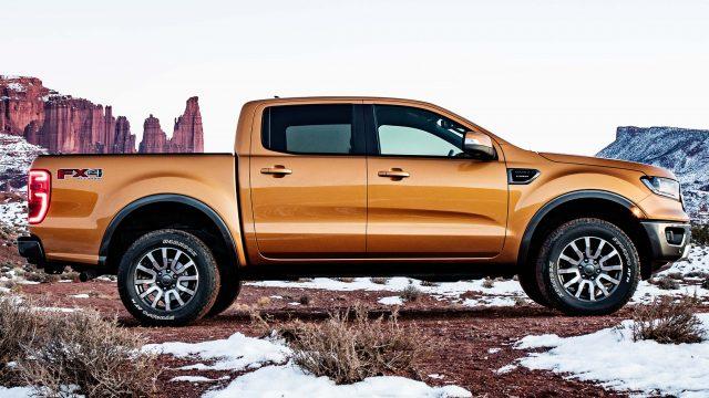 2019 Ford Ranger Lariat FX4 - side