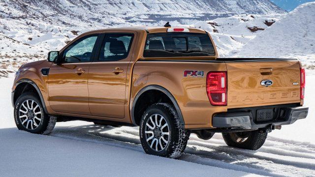 2019 Ford Ranger Lariat FX4 - rear
