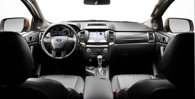 2019 Ford Ranger Lariat FX4 - interior, dashboard