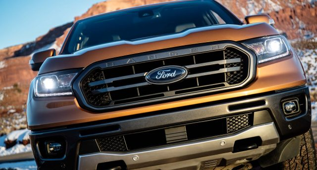 2019 Ford Ranger Lariat FX4 - grille, bumper, headlamps