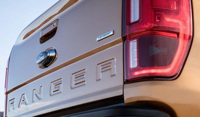 2019 Ford Ranger Lariat FX4 - tailgate