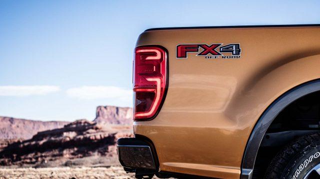 2019 Ford Ranger Lariat FX4 - taillamps