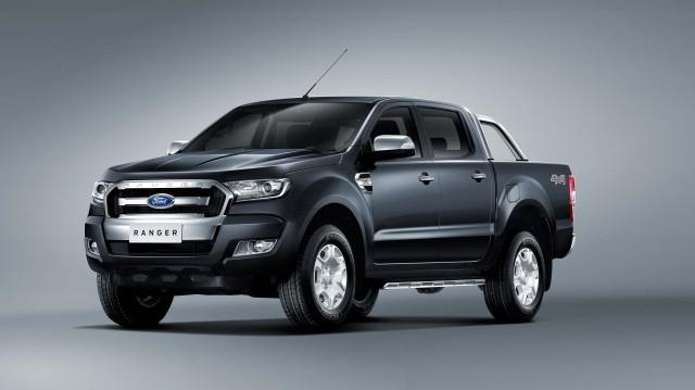 T6 Ford Ranger XLT facelift - front