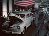 1946 - Ford Rouge B-Building - cars leaving assembly line