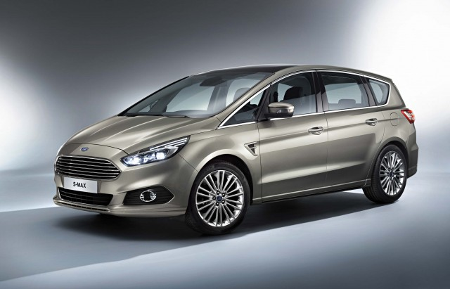 Ford S-Max second generation - front