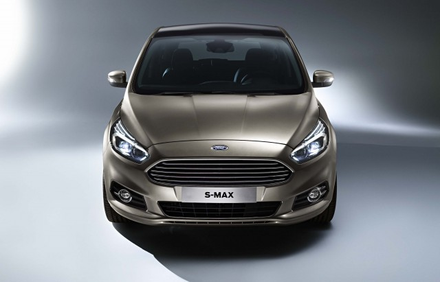 Ford S-Max second generation - front end