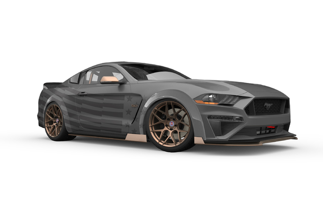 CJ Pony Parts Mustang GT Gets the Drift