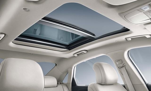 Ford Taurus (seventh generation) - panoramic sunroof