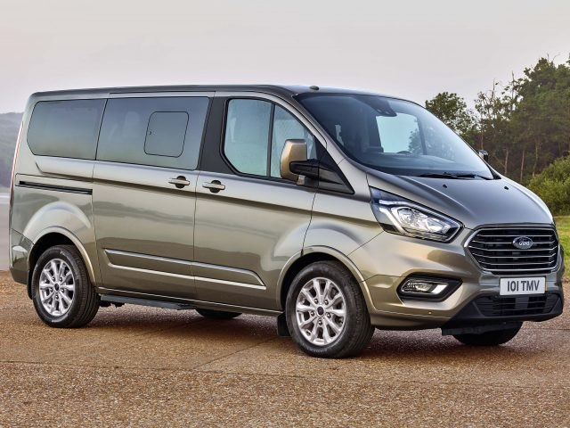 2018 Ford Tourneo Custom facelift - front