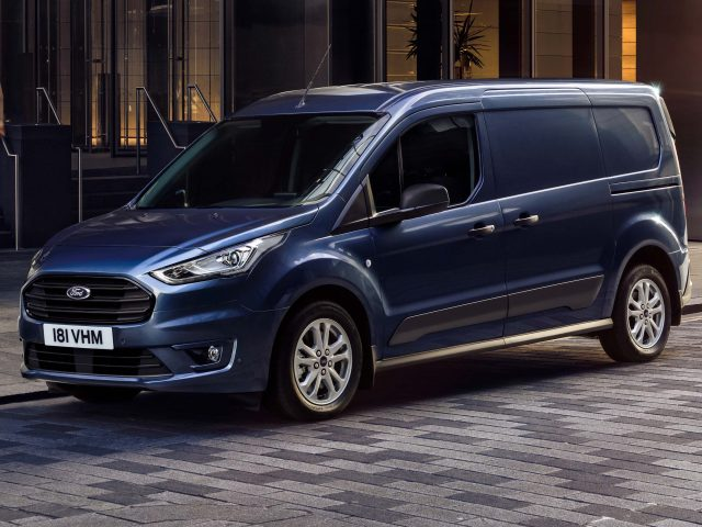 2018 Ford Transit Connect facelift - front, blue