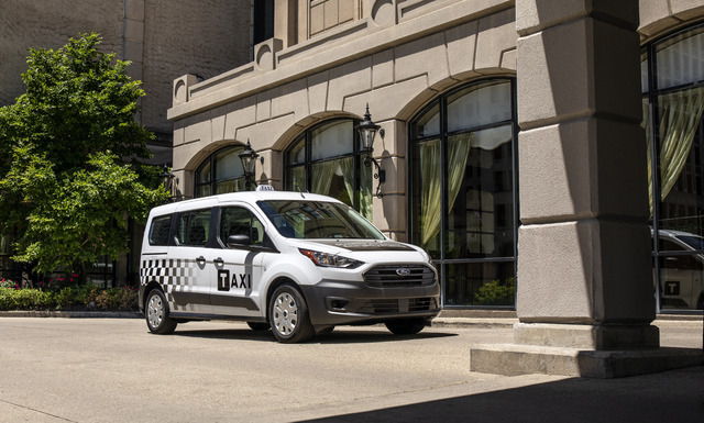 2019 Ford Transit Connect Diesel Taxi - front