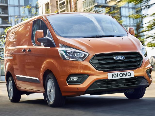 2018 Ford Transit Custom facelift - orange, front