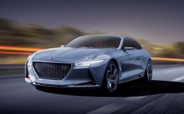 Genesis New York Concept Front