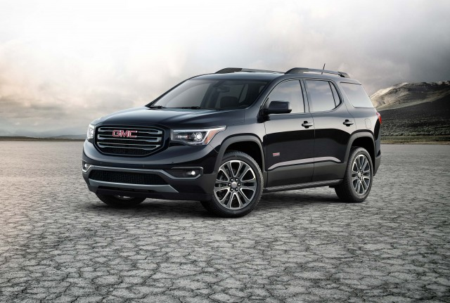 2017 GMC Acadia All Terrain - front