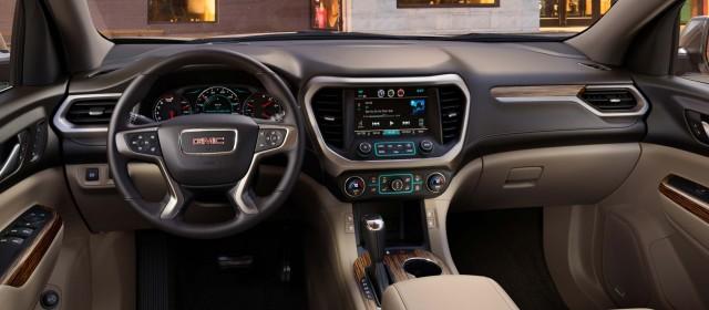 2018 Chevrolet Traverse Dashboard 2017 Gmc Acadia Denali Interior