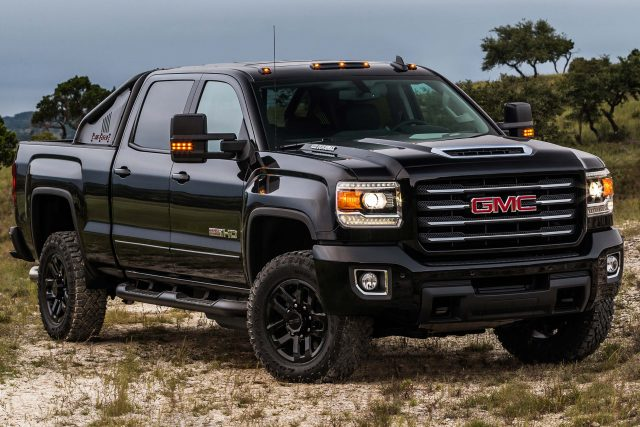 2017 GMC Sierra 2500HD All Terrain X - front, black