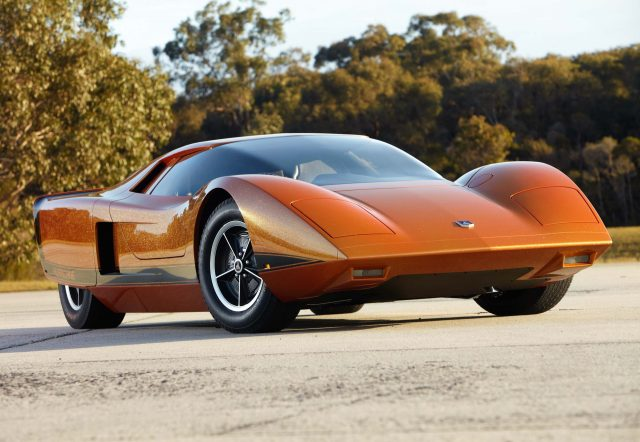 1969 Holden Hurricane concept car (restored) - front