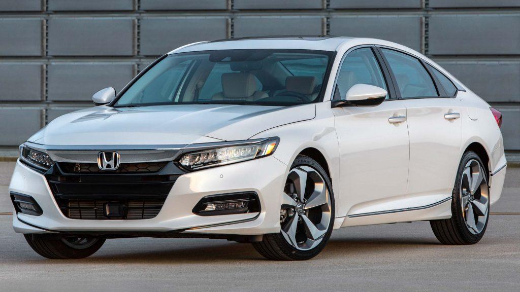 2018 Honda Accord Touring Front White