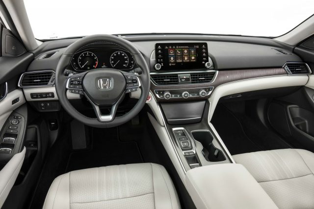 2018 Honda Accord - interior, dashboard, white leather