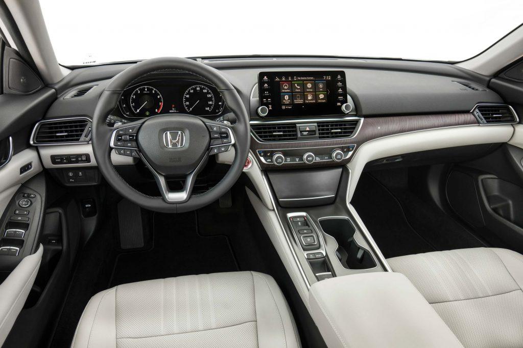 2018 Honda Accord - interior, dashboard, white leather
