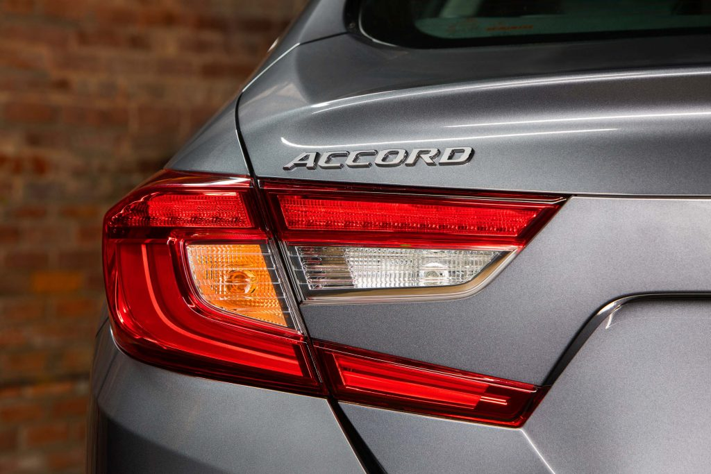 2018 Honda Accord - taillamps