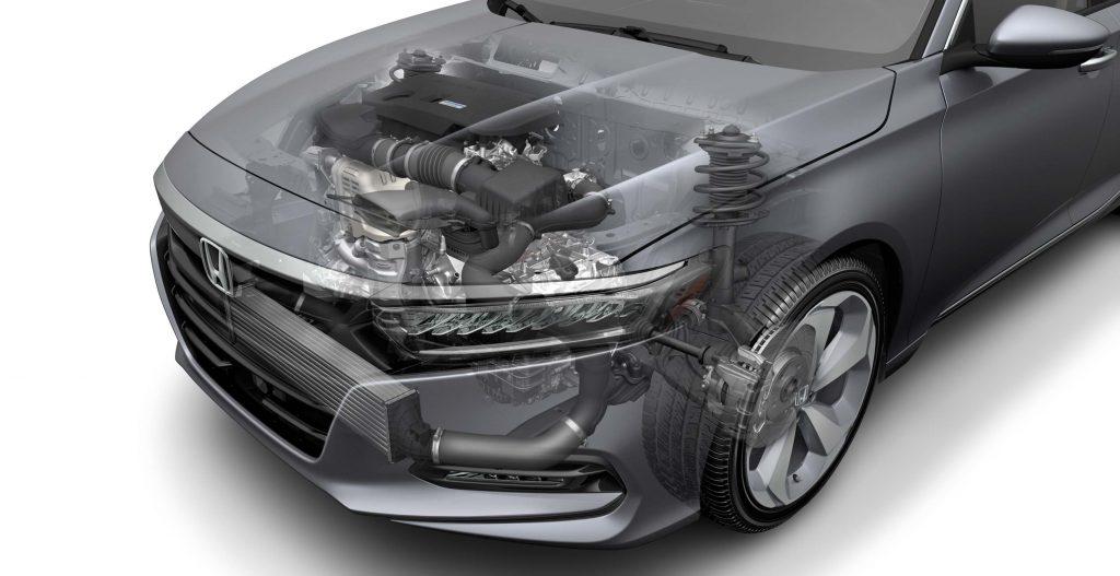2018 Honda Accord - 2-liter turbo I4 and 10-speed auto