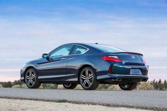 2016 Honda Accord Coupe Touring - rear