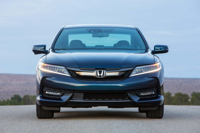 2016 Honda Accord Coupe Touring - new grille and headlights