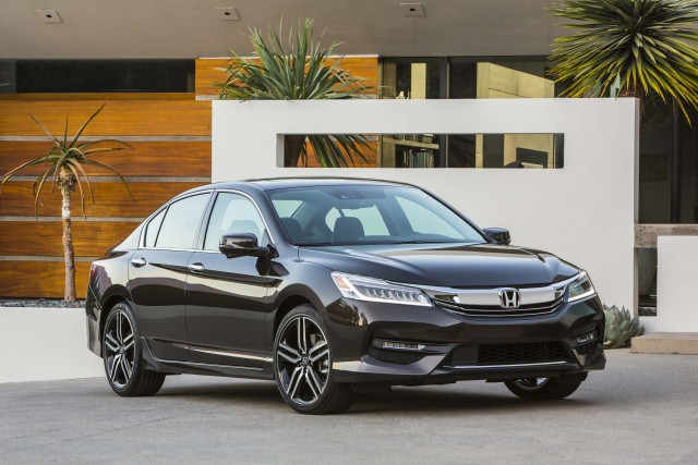 Honda Accord ninth generation MY2016 facelift - front