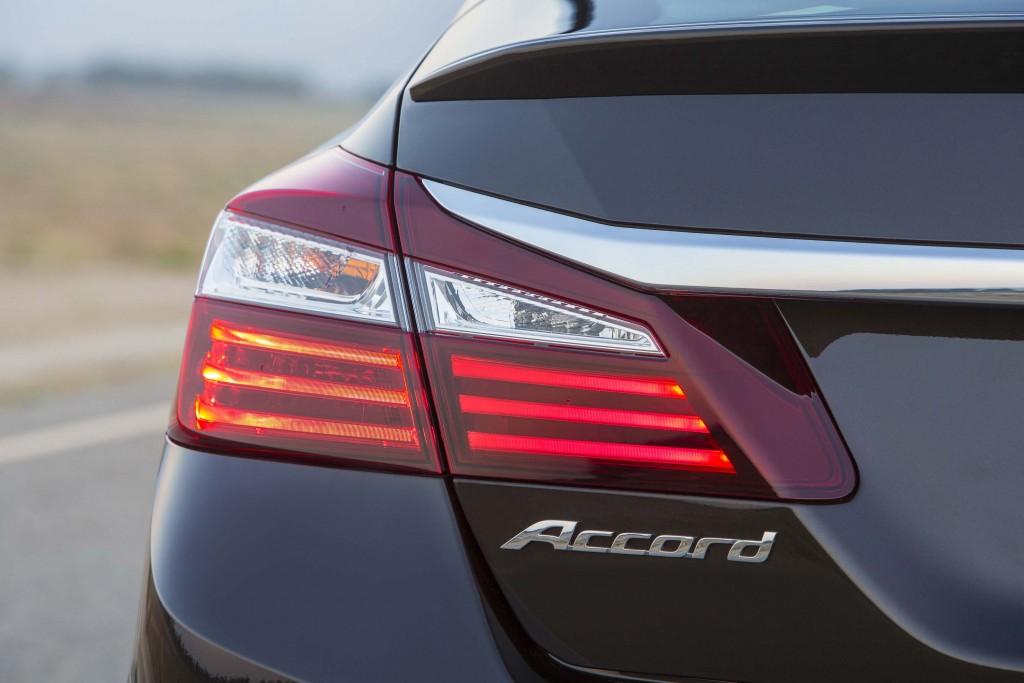 2016 Honda Accord Sedan Touring - new taillights