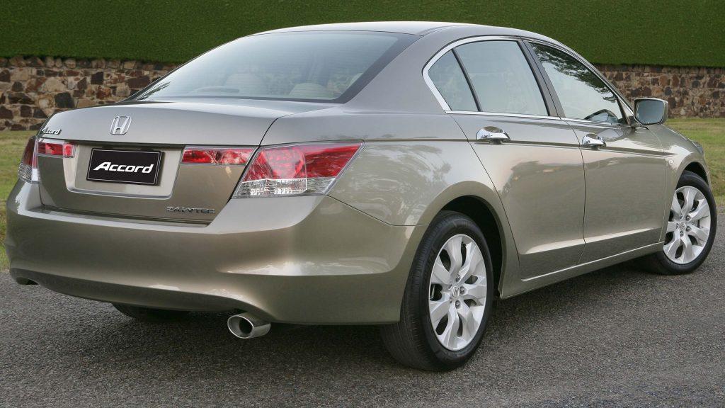 2008 Honda Accord - rear