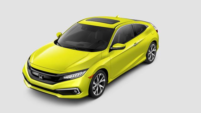 2019 Honda Civic coupe facelift