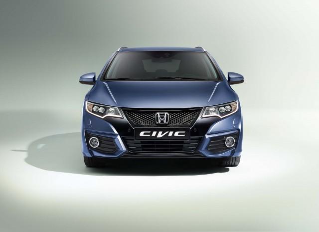 FB Honda Civic wagon facelift - front
