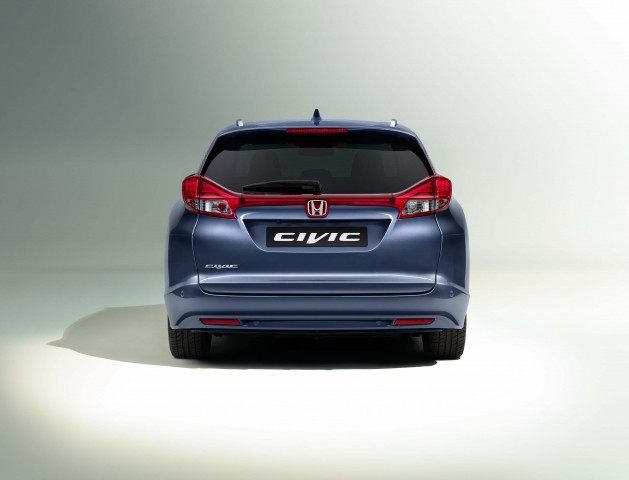 FB Honda Civic wagon facelift - rear