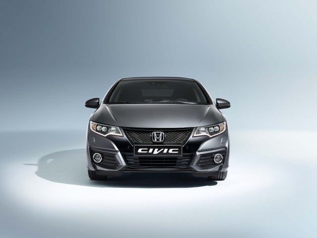 FB Honda Civic hatch facelift - front