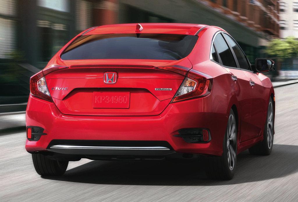 2019 Honda Civic sedan facelift