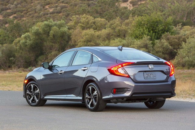 2016 Honda Civic Sedan - rear