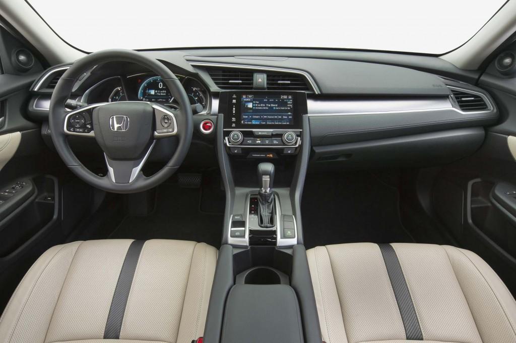 2016 Honda Civic Sedan - interior