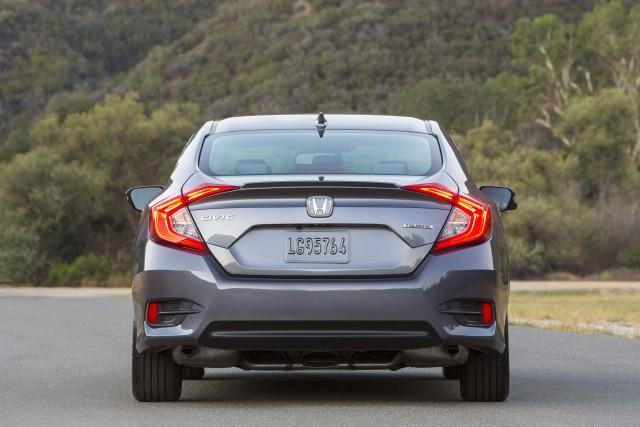 2016 Honda Civic Sedan - tail
