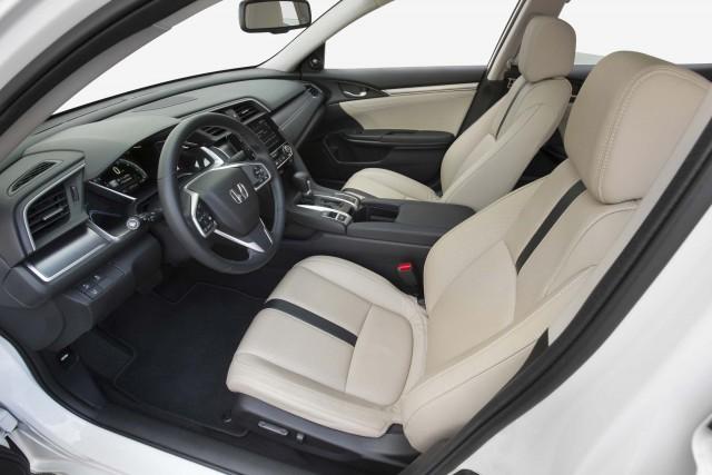 2016 Honda Civic Sedan - front seats