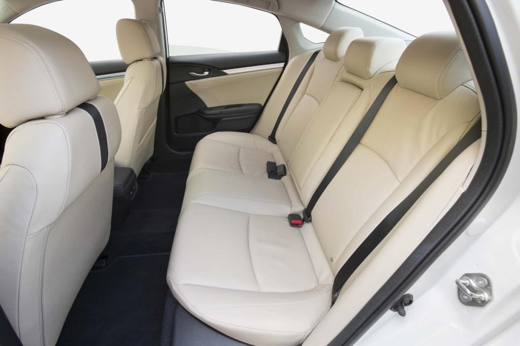 2016 Honda Civic Sedan - rear seats