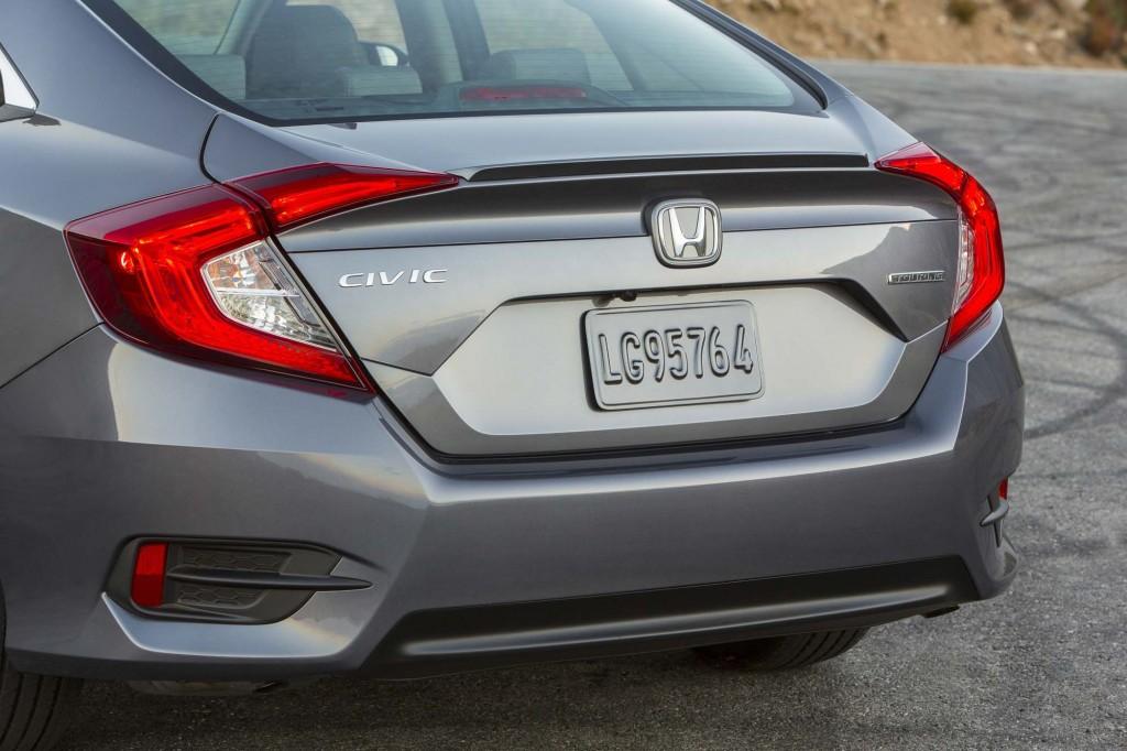 2016 Honda Civic Sedan - trunk