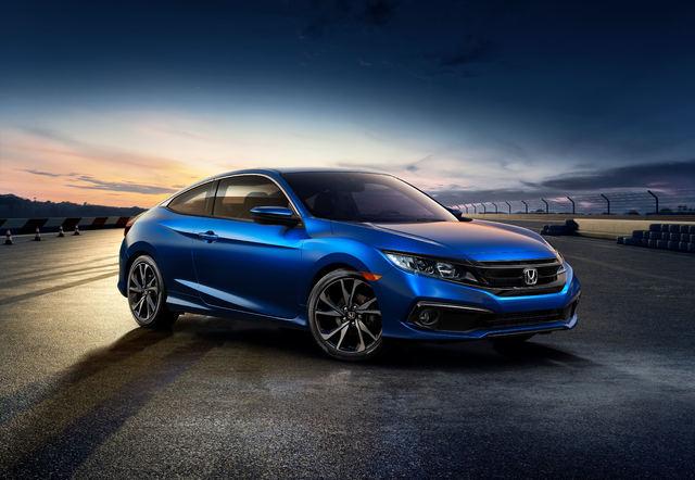 2019 Honda Civic Sport coupe facelift