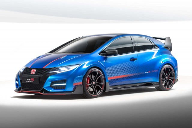 Honda Civic Type-R Concept II - front
