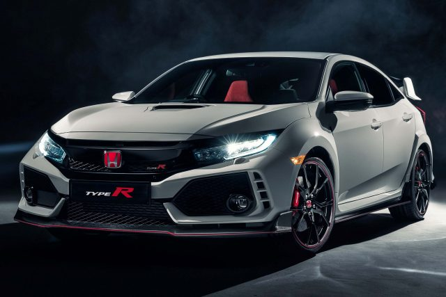 2017 Honda Civic Type R - front, white