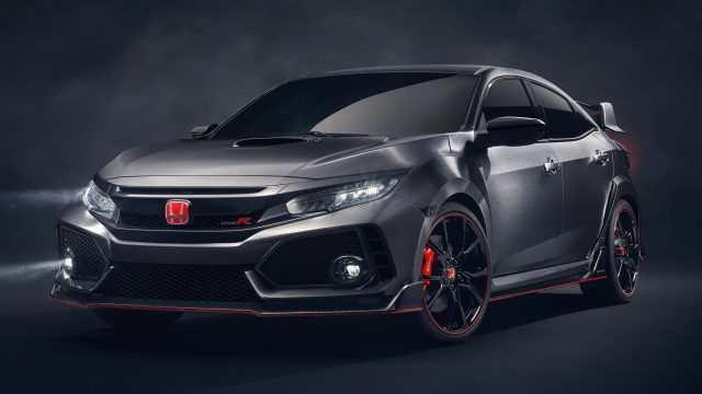2016 Honda Civic Type R Prototype - front