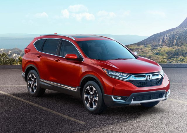 Honda cr v 2017 fifth generation usa photos between for Honda crv usa