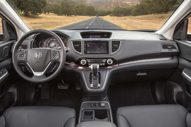 RM Honda CR-V MY2015 facelift - interior