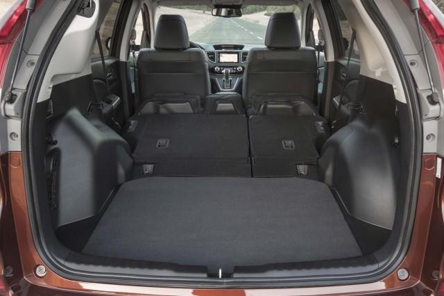 RM Honda CR-V MY2015 facelift - trunk