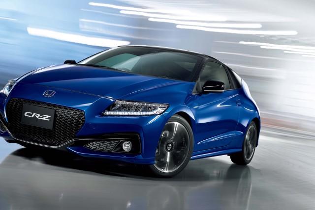 2015 Honda CR-Z facelift - blue, action, front, α Master Label